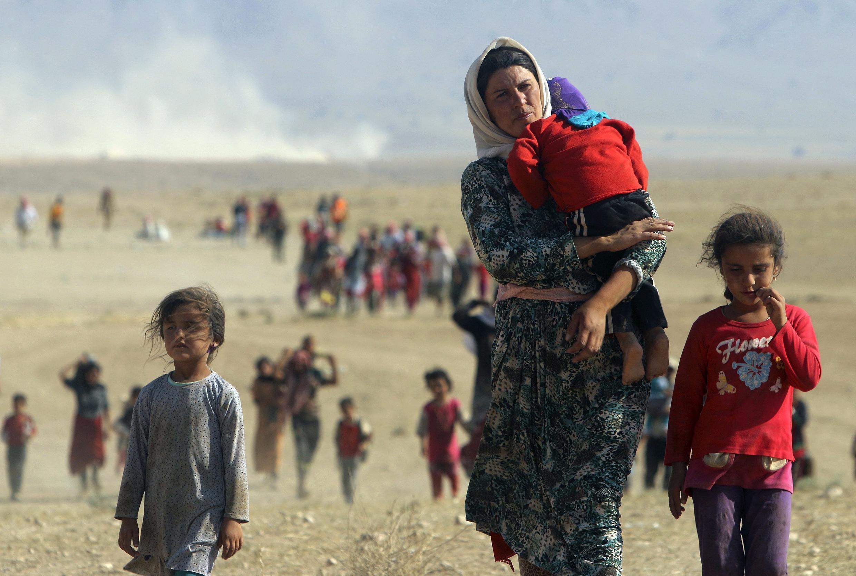 La minoría yazidí es perseguida por los yihadistas del grupo Estado Islámico.