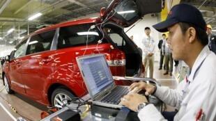 Hãng Toyota hiện đang thu dụng hơn 4000 nhân công (Reuters)