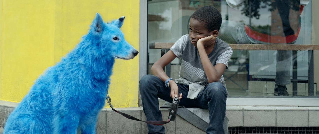Кадр из фильма «Синяя собака» конкурсной программы фестиваля