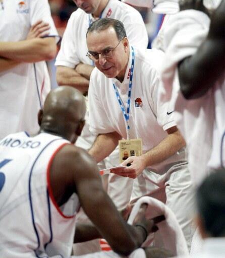 Alain Weisz, l'entraîneur de l'équipe du Sénégal.