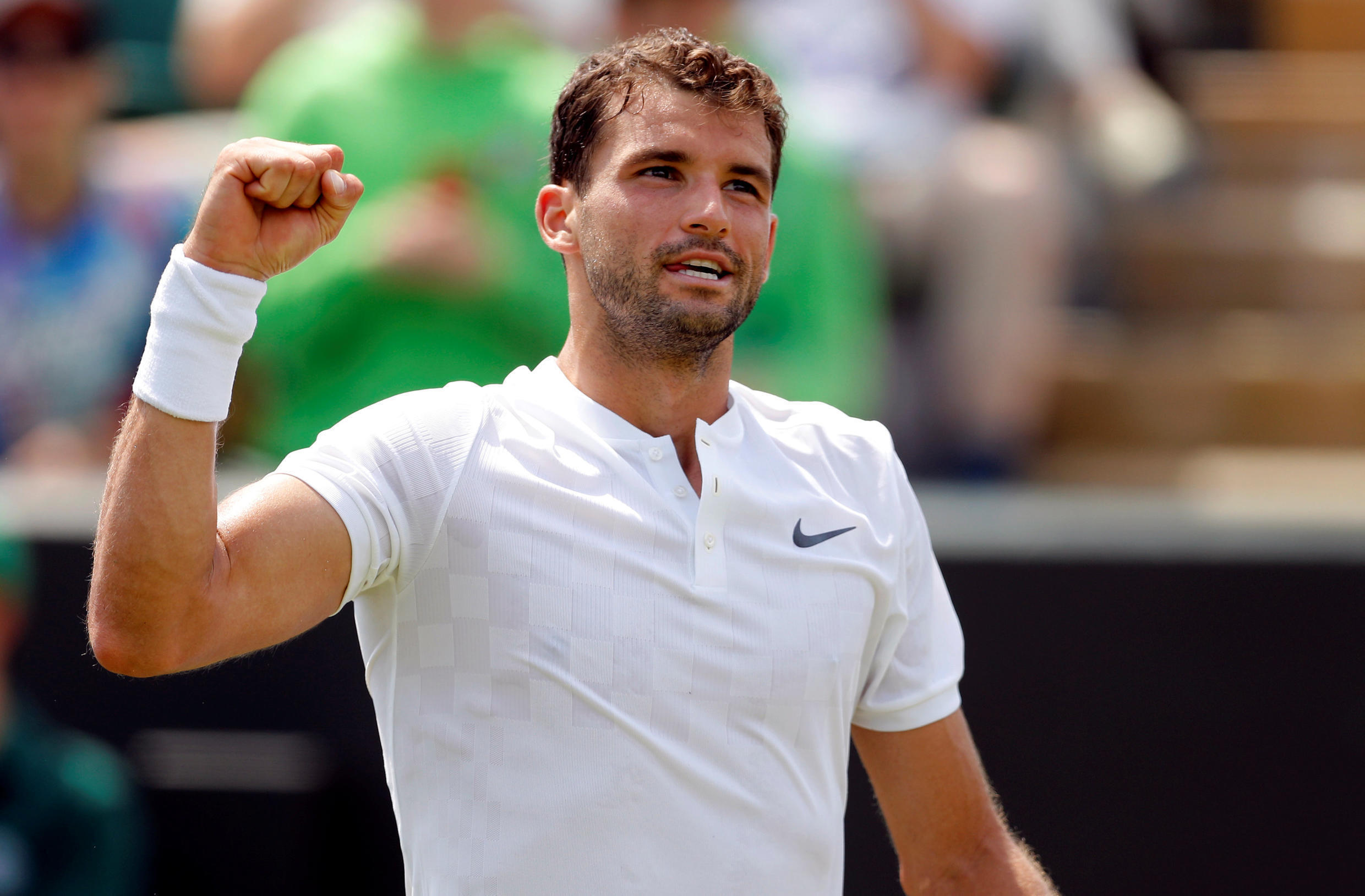 Grigor Dimitrov has never been past the third round at Roland Garros.