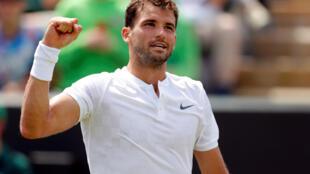 Grigor Dimitrov won the junior title at Wimbledon in 2008.