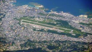 Khu căn cứ hải quân của Mỹ Futenma, tỉnh Okinawa, Nhật Bản.