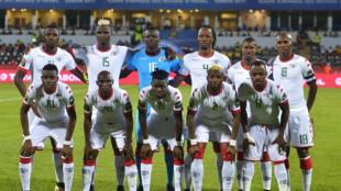 L'équipe du Burkina Faso à la CAN 2017.