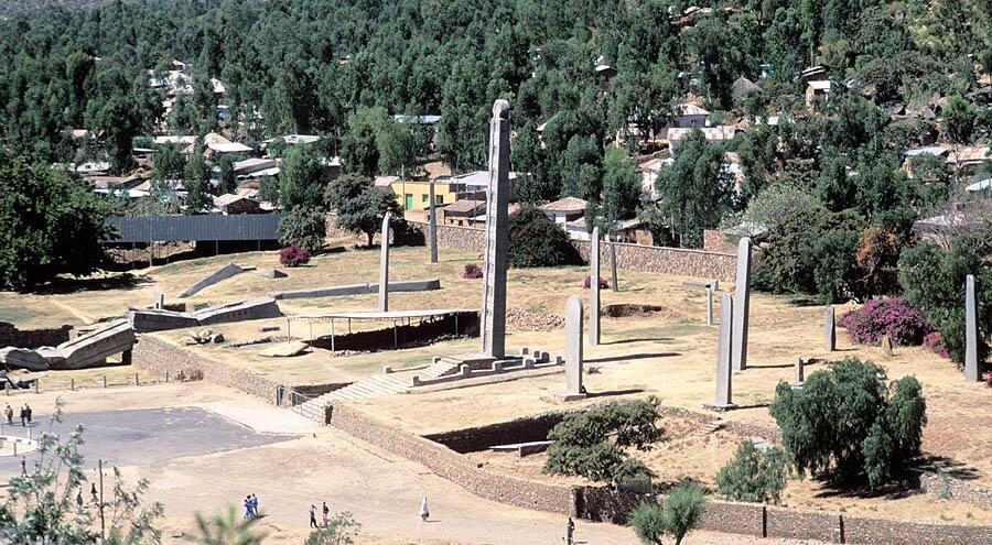 Mji wa Aksum, Ethiopia.