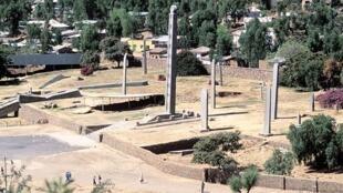 Cikin garin Aksoum da ke kasar Eritrea