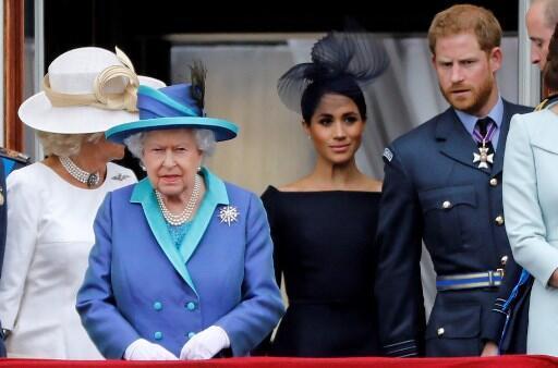A cúpula da família real britânica se reúne nesta segunda-feira na residência de campo da rainha Elizabeth, em Sandringham, para discutir o futuro do príncipe Harry na realeza. Foto do 10/07/18