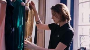 Photo du film du Français Olivier Assayas, <i>Personal Shopper, </i>avec l'actrice méricaine Kristen Stewart (2016).