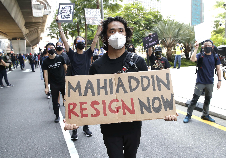 malaisie manifestation