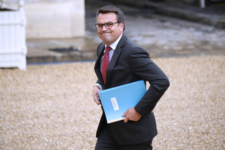 O ex-ministro Thomas Thévenoud ao chegar ao Palácio do Eliseu, em 27 de agosto.