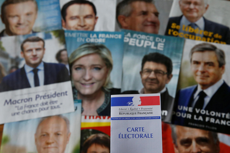 Các ứng viên tổng thống mà cử tri Pháp sẽ chọn vào ngày 23/04/2017.