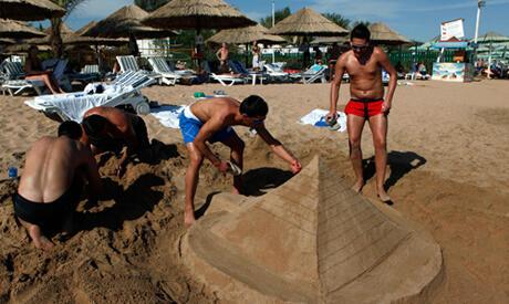 Пляж в Шарм эль-Шейхе