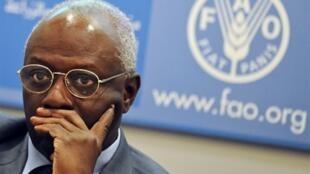 Jacques Diouf, le directeur général de la FAO.