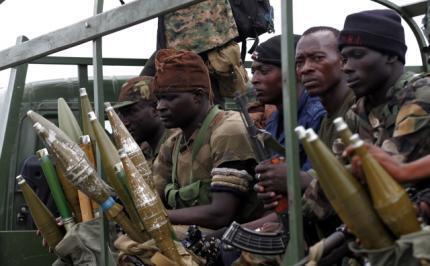 Pro-Ouattara forces near Abidjan