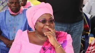 L'opposante togolaise Brigitte Adjamagbo Johnson.