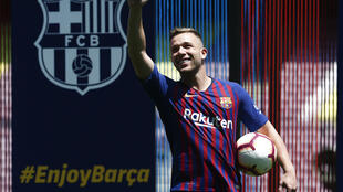 Arthur Melo is leaving Barcelona for Juventus in the first nig trrfansfer of the summer