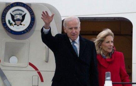 Phó tổng thống Mỹ Joe Biden cùng phu nhân đến Đức dự hội nghị Munich (Reuters)