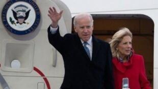 ورود Joe Biden به آلمان اول فوریه ٢٠١٣