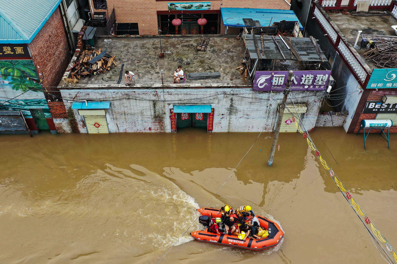 Les inondations dans la province du Henan