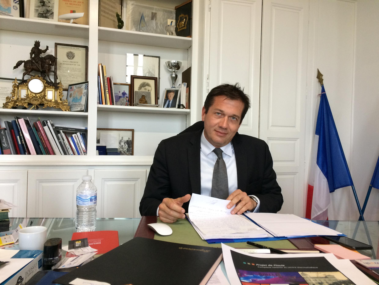 O prefeito de Cogolin, Marc-Etienne Lansade.
