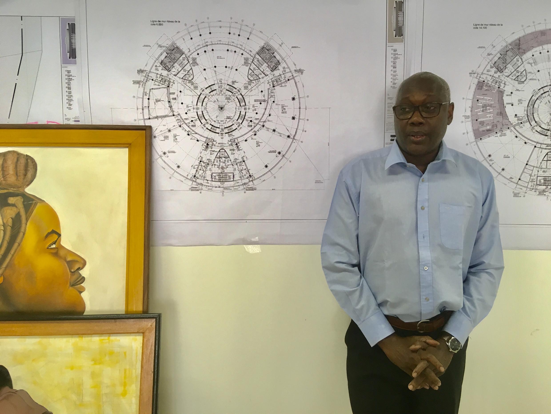 The director of Dakar's Museum of Black Civilisations, Hamady Bocoum.