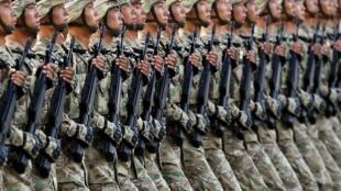 解放軍儀仗隊 資料照片