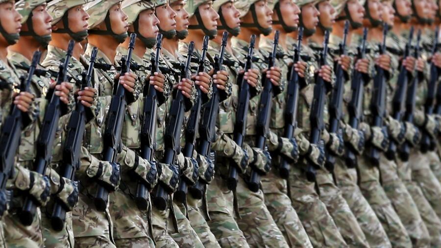 中共庆百年 大批军人荷枪进京拱卫维稳? 中共庆百年 大批军人荷枪进京拱卫维稳?