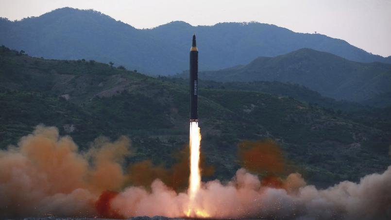 朝鮮宣稱又一次成功試射導彈 (2017年5月14日)