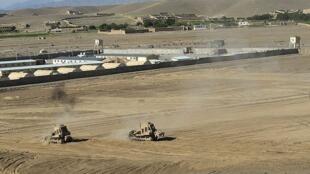 La base opérationnelle avancée de Logar, en Afghanistan.