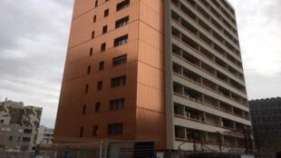 Mykerinos, immeuble qui vient de bénéficier d'une rénovation énergétique dans le 13ème arrondissement de Paris.
