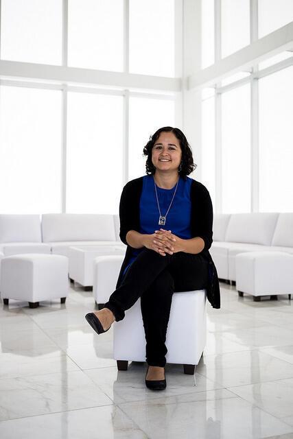 Selene Fernández Valverde estudió ciencias genómicas y se doctoró en bioinformática.