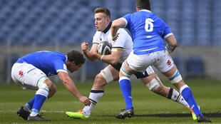 Scotland No8 Matt Fagerson has an ankle injury and been replaced by Nick Haining in the starting line-up for their final Six Nations match with France