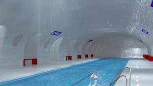 Revamped metro station, planned by UMP candidate, Nathalie Kosciusko-Morizet