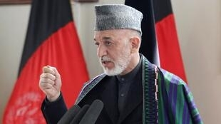 Afghan President Hamid Karzai said his government was pressing to end NATO night raids