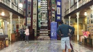 Au sein du musée du District 6, au Cap.