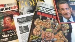 Capas dos semanários de 01/11/2018