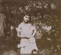 Alice as a beggar child (Lewis Carroll, 1859).