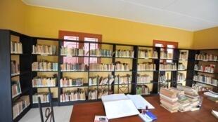 Vue de la bibliothèque Amadou-Hampâté-Bâ. Le sage avait fait de la défense des cultures africaine et orale son combat.