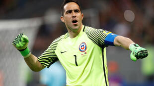 Claudio Bravo saved three penalties to help Chile into the Confederations Cup final.