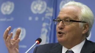 Vitali Tchourkine le 2 septembre 2015 aux Nations unies à New York.