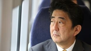 Japan's Prime Minister Shinzo Abe, 2 May 2014.