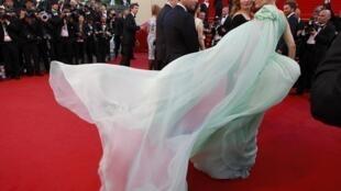 Актрисы Эмманюэль Девос и Диана Крюгер, члены жюри 65-го Каннского фестиваля