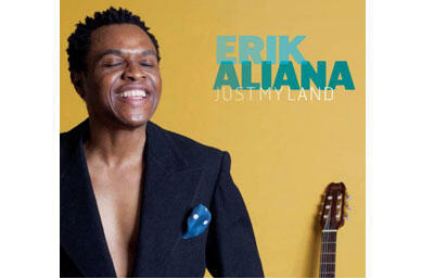 Pochette de l'album d'Erik Aliana «Just My Land».