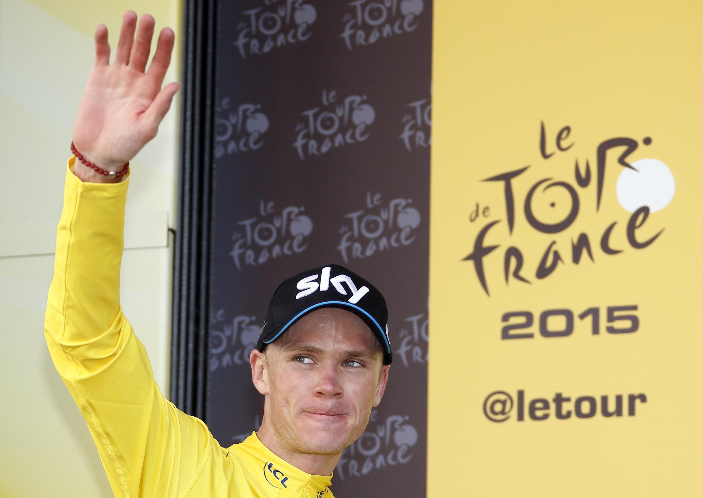 Froome no se despegó del maillot amarillo en la ultima etapa de montaña del Tour de Francia 2015
