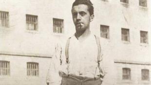 Ernst Toller, prison de Niederschönfeld, 1924.