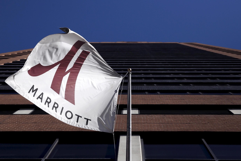 Khách sạn Marriott ở Manhattan, New York. Ảnh minh họa - chụp ngày 16/11/2015.