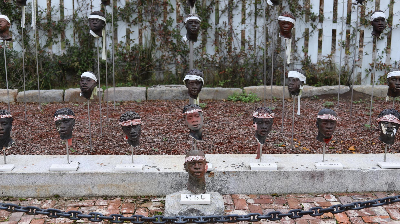 Le mémorial de la Whitney Plantation en Louisiane sur la révolte des esclaves de 1811 sur la Côte des allemands.