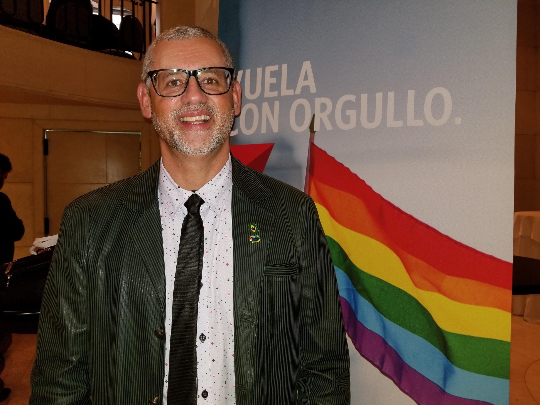 O presidente da Câmara LGBT do Brasil, Ricardo Gomes.