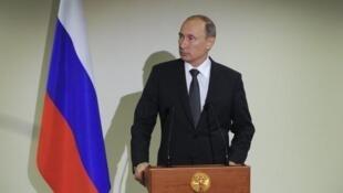 O presidente russo Vladimir Putin é um aliado do presidente da Síria, Bachar al-Assad.