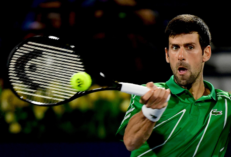 Novak Djokovic is seeking an 18th Grand Slam title at the US Open in new York.